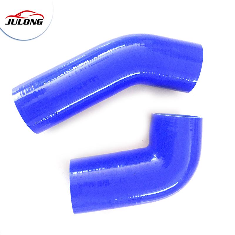 Blue High Temperature Resistant 102mm Silicone Rubber Vacuum Hose